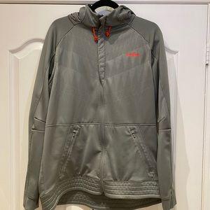 Nike Lebron Therma-Fit Sweater Zip Hoodie in Grey